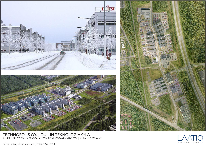 Technopolis Oulun teknologiakylä  Arkkitehtitoimisto