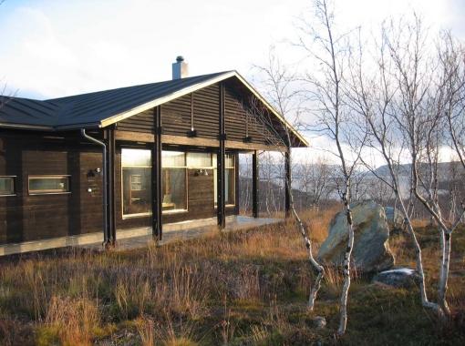 Kilpisjärvi biological station and information building