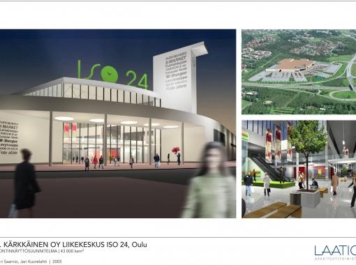 J.Kärkkäinen, Liikekeskus ISO24